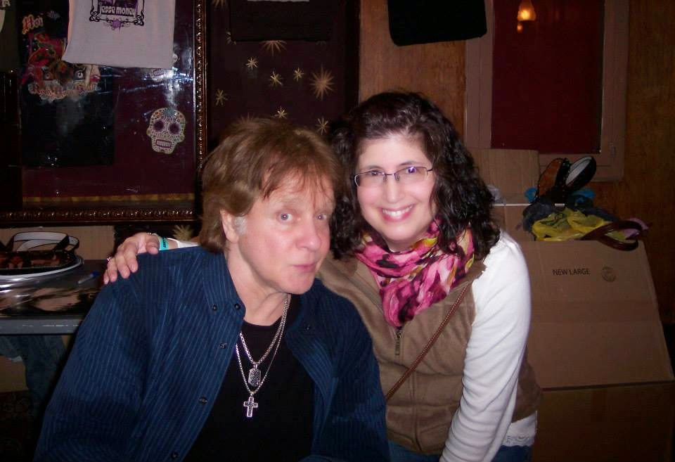 Eddie Money and I (House of Blues, Cleveland) March, 2014. (Photos: Nancy Yovan)